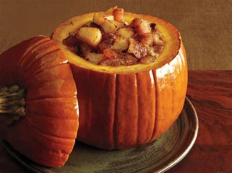 pumpkin meals apple pumpkin brown betty recipe food network kitchen food network