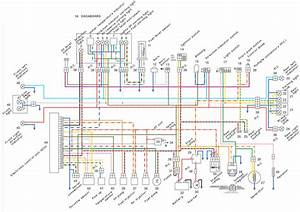First Morini Electrical Color Diagram