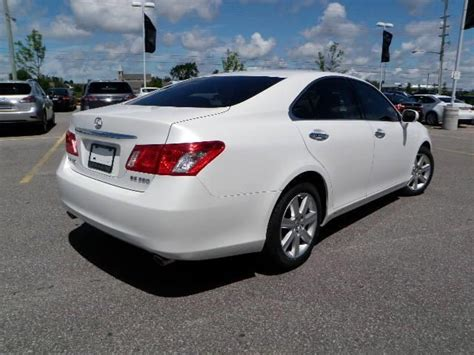 lexus cars 2008 2008 lexus es 350 luxury package barrie ontario used