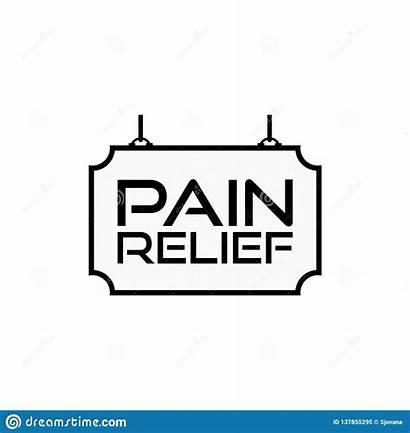 Pain Relief Management Icon Pijnstiller Chronic Painkiller