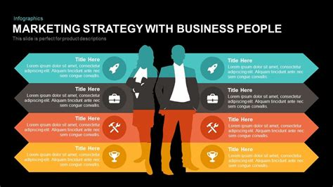 marketing strategy powerpoint template  business people