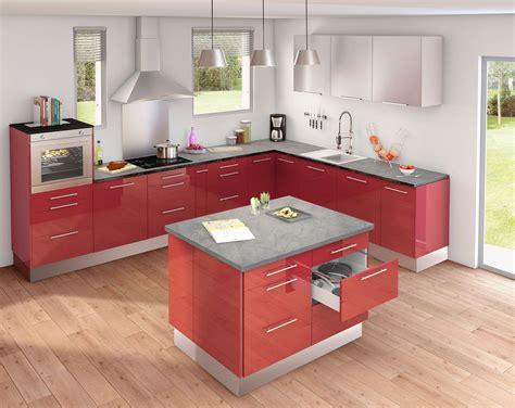 modele cuisine grise image gallery modele de cuisine