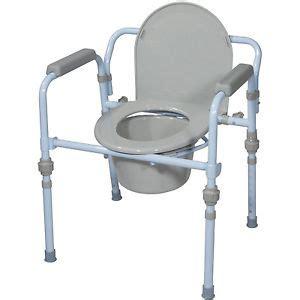 new folding commode seat bucket set portable potty cing