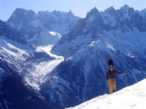 Free Snowbaorder Up The Mountain 3 Stock Photo