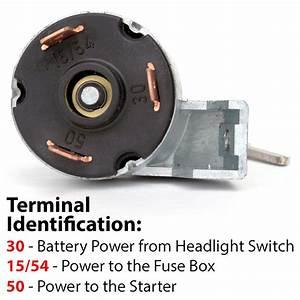 111-905-803d Ignition Switch W  Keys