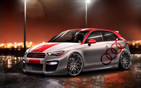Audi A3 4k Wallpapers by Artwork Audi A3 Cars Tuning