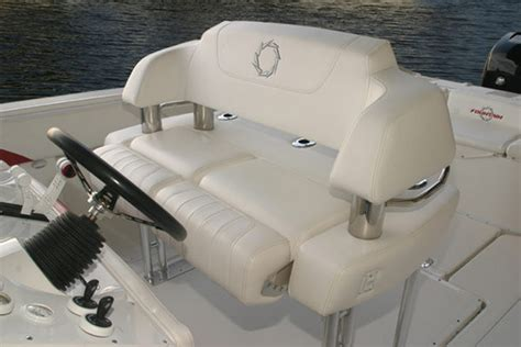 captain chairs for center console boats 2007 mercury 32 center console boat review