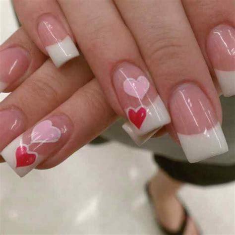 Las mejores ideas para tener unas uñas acrílicas hermosas de una manera muy sencilla y rapida. UÑAS DE SAN VALENTIN + 70 DISEÑOS