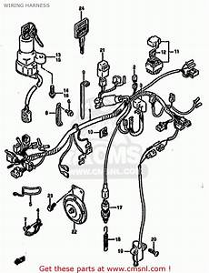 Suzuki Gs500 1993  Ep  Wiring Harness