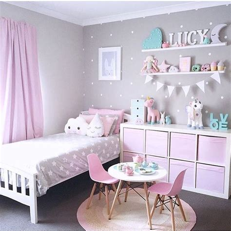 classic pink and gray toddler bedrooms toddler