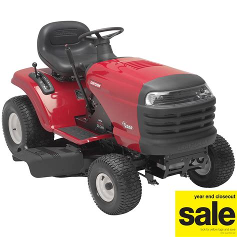 Sears Garden Tractor Parts by Craftsman 20 Hp 42 In Deck Lt 2000 Lawn Tractor Lawn