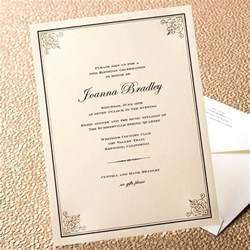 engraved wedding guest book elegance cornered birthday invitation crane