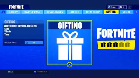 fortnite gifting fortnite gifting system release date as update 5 01 arrives