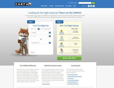 Carfax Revolutionizes Online Car Shopping With Vehicle