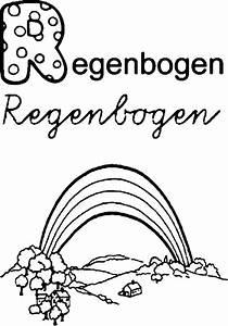 Regenbogen Zum Ausmalen : regenbogen bilder zum ausmalen malvorlage gratis ~ Buech-reservation.com Haus und Dekorationen