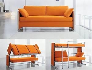 Canapé Lit Petit Espace : meubler un petit espace comme un architecte d 39 int rieur ~ Premium-room.com Idées de Décoration