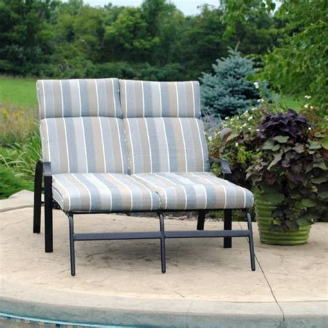 backyard creations pacifica chaise lounge at menards 174
