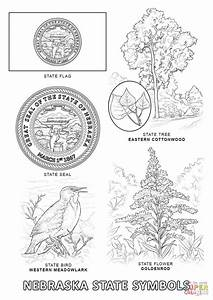 Pennsylvania State Flag Coloring Page 12752