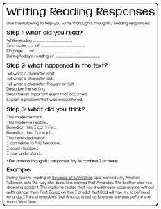 how to write a reader response essay