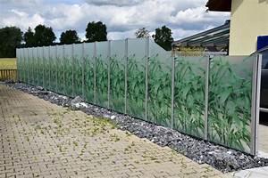 Zaun Aus Glas : sichtschutzw nde aus glas ~ Yasmunasinghe.com Haus und Dekorationen