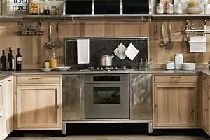 Cuisine équipée Bois : cuisine en kit bois massif ~ Premium-room.com Idées de Décoration