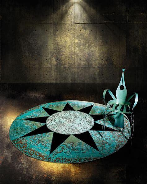 tappeto contemporaneo tappeto contemporaneo rotondo italy design