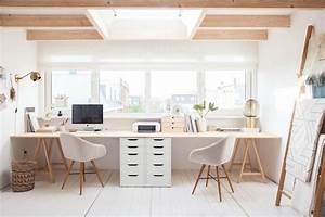 Gästezimmer Einrichten Ikea : 17 tips for a beautiful organized office space arbeitszimmer pinterest b ro zimmer ikea ~ Buech-reservation.com Haus und Dekorationen