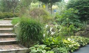 landscaping ideas for small sloped backyards landscaping