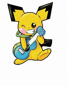 ukulele playing pichu