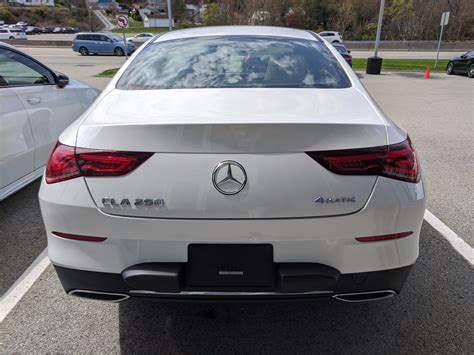 Research, compare and save listings, or contact sellers directly from 4 2020 cla 250 models nationwide. New 2020 Mercedes-Benz CLA 250 CLA 250 in Polar White   Greensburg, PA   #B02260