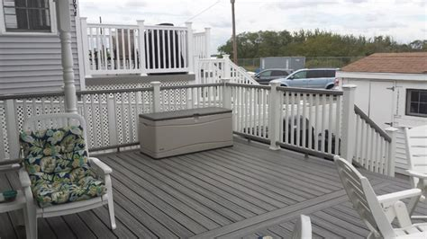 trex transcend decking island mist trex transcends island mist breezy point project