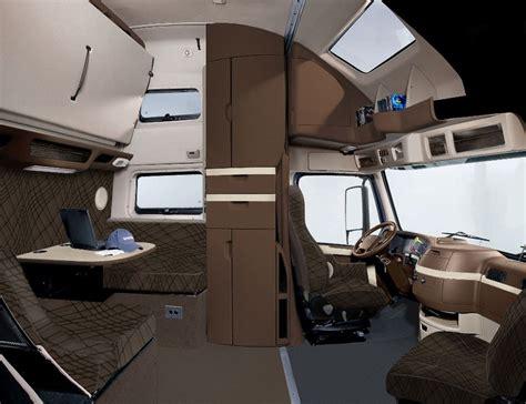 volvo vnl  interior cabin semi trucks interior
