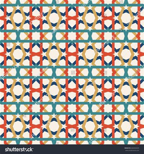 classic ceramic mosaic tile seamless pattern stock vector