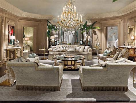 provasi living  classic italian living room italian