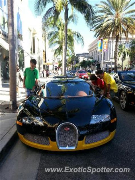 Bugatti Veyron Spotted In Los Angeles, California On 0901