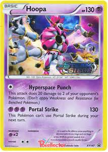 Hoopa Pokemon Card