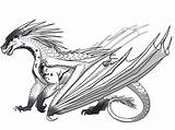 Wings Fire Coloring Dragon Dragons Wattpad Edits Complete Pages Ice Cool Colored Adults Fans Quiz sketch template
