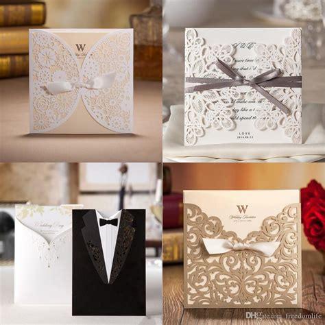 Wholesale Unique Wedding Invitations Cards High Quality