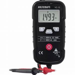 Vc Berechnen : hand multimeter digital voltcraft vc 13 kalibriert nach werksstandard ohne zertifikat cat iii ~ Themetempest.com Abrechnung