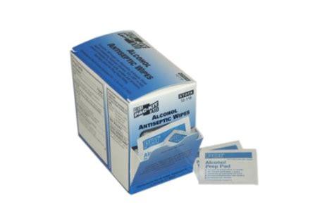 pac kit   aid    alcohol antiseptic wipe