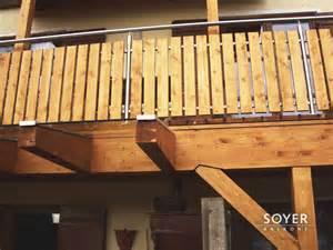 edelstahl balkone balkon aus holz und edelstahl bvrao