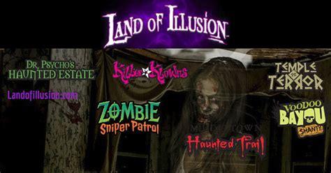 land  illusion haunted scream park