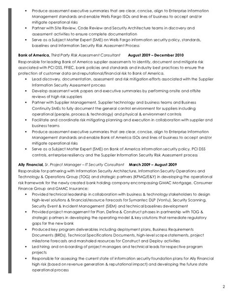 Director Enterprise Risk Management Resume by Michael Bowers Resume