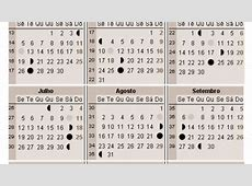 Calendário lunar 2018 A Gravidez