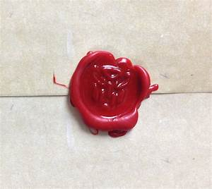 how to create your own wax seal yoshicast With letter sealing