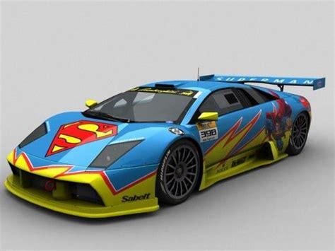 cool wrapped cars superman car wrap vinyl cover art cars