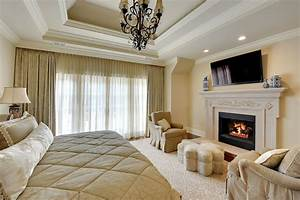 Master Bedroom Fireplace - [peenmedia.com]
