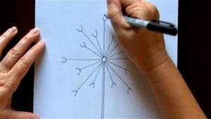 How To Draw A Dandelion Easy Free Drawing Tutorial For