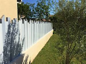 Brise Vue Pvc Blanc : cl ture pvc couleur bois cl ture brise vue ulysse ~ Dailycaller-alerts.com Idées de Décoration