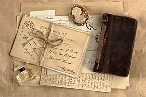 Vintage letter wallpaper forwallpapercom say for Antique letters